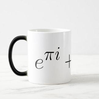 Euler's identity morphing mug
