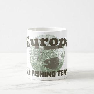 Europa Ice Fishing Team Coffee Mug
