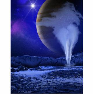 Europa Jupiter Moon Space Art Photo Sculptures