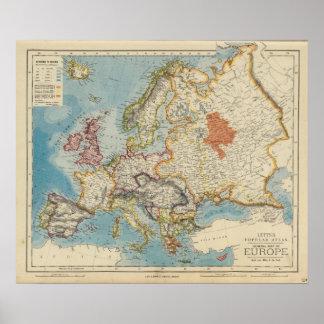 Europe 17 poster