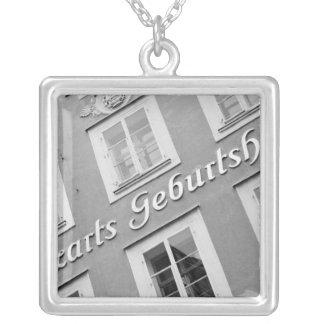 Europe, Austria, Salzburg. Mozart's Birthplace Silver Plated Necklace