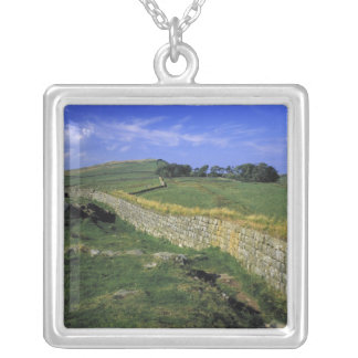 Europe, England, Hadrian's Wall. The stones of Silver Plated Necklace