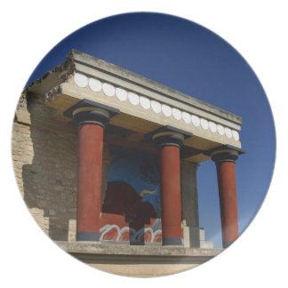 Europe, Greece, Crete (aka Kriti), Heraklion 2 Dinner Plates