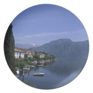 Europe, Italy, Lake Como, Tremezzo. Northern Plates