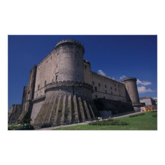 Europe, Italy, Naples, Castle Nuovo Poster