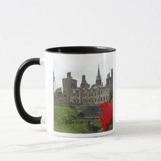 Europe, Wales, Cardiff. Cardiff Castle. Welsh 2 Mug