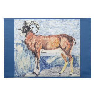 European Mouflon Placemat