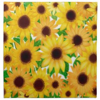 European Sunflowers Napkin