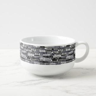 European Traveler soup mug