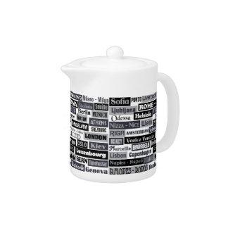 European Traveler teapot