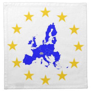 European union napkin