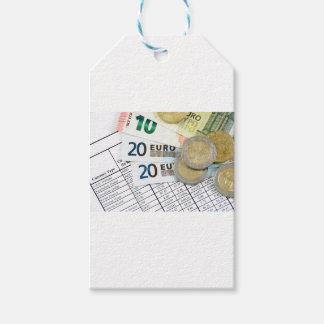 Euros Gift Tags