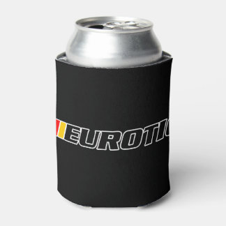 Eurotic Car Club Drink Can Cooler