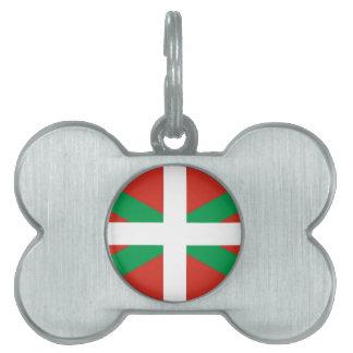 Euskadi Flag - Basque Country - Ikurri Pet Name Tag