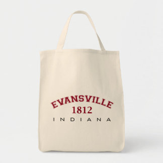 Evansville, IN - 1812 Tote Bag
