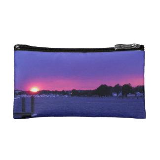 Evening Bag with Beautiful Sunset Photograph Makeup Bag
