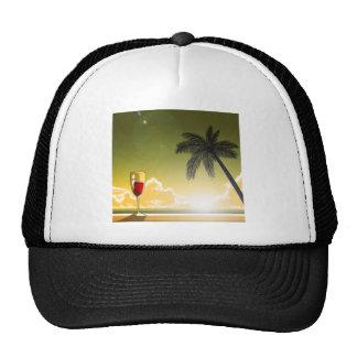 Evening Beach Hat
