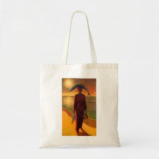 Evening Catch Budget Tote Bag