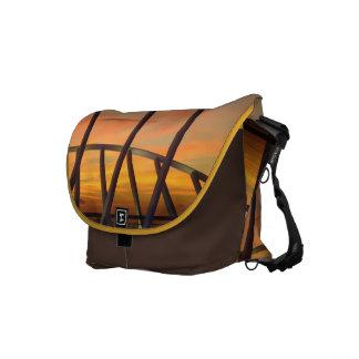 Evening Delight No. 1 Medium Brown Messenger Bag