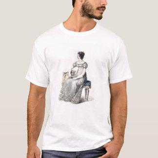 Evening dress, fashion plate from Ackermann's Repo T-Shirt