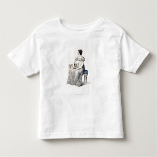 Evening dress, fashion plate from Ackermann's Repo Toddler T-Shirt