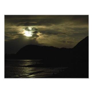 Evening Falls at Lyme Regis Photograph