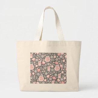 Evening Glass of Pink Lemonade Jumbo Tote Bag