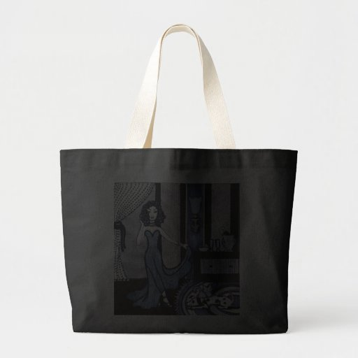 Evening Gown Gloria Large Tote Bag