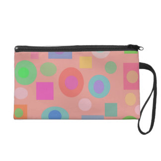Evening on a Rainy Day Wristlet Clutches