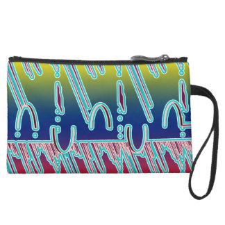 Evening Pattern Bagettes Bag Wristlets
