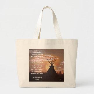 Evening Respite Jumbo Tote Bag