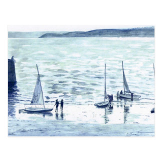 Evening Sail Postcard