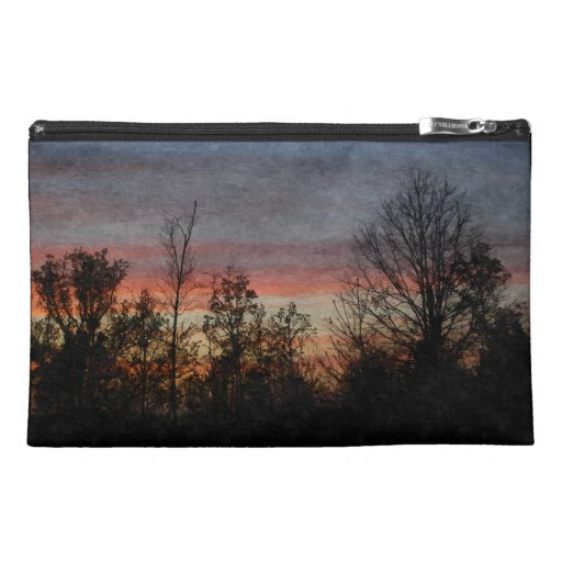 Evening Skies Travel Accessories Bag
