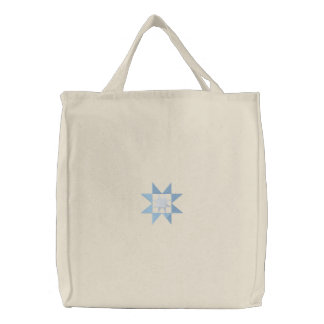 Evening Star Embroidered Tote Bag