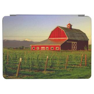 Evening sun on a barn in Washington's Skagit iPad Air Cover