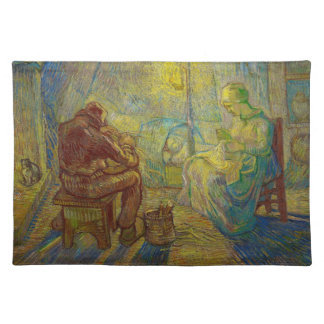 Evening - The Watch by Vincent Van Gogh Placemat