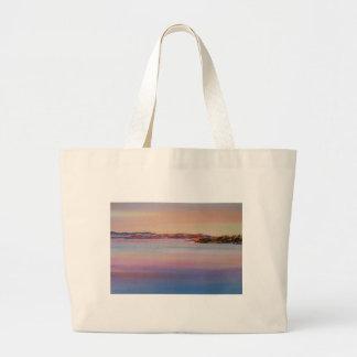 Evening Tide Jumbo Tote Bag