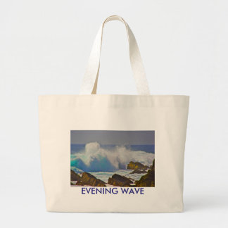 Evening Wave Jumbo Tote Bag