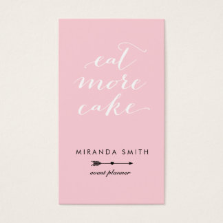 Event Planner Business Card - Navy Pink Classic