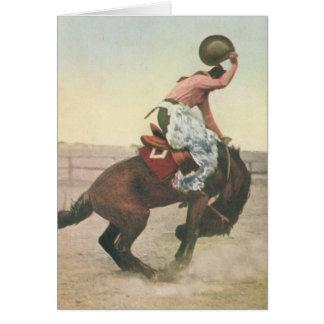 Everett McGucin on Blue Dog Cheyenne Frontier Days Card