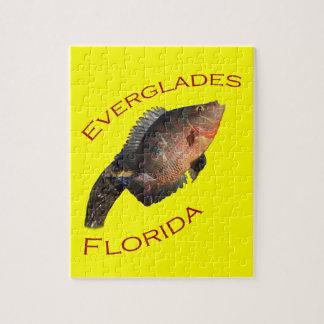 everglades florida jigsaw puzzle