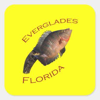 Everglades Florida Square Sticker