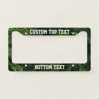 Evergreen Tree - Cypress Boughs Licence Plate Frame