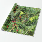 Evergreen Wrapping Paper - Prairie Mile Series