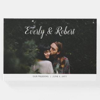 Everly Wedding Guest Book