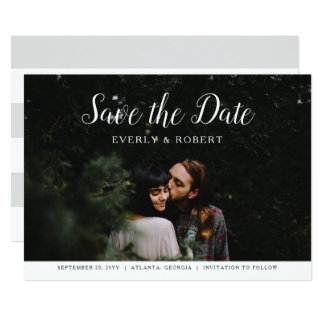 Everly Wedding Save the Date Card