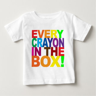 Every Crayon In the Box Tshirt