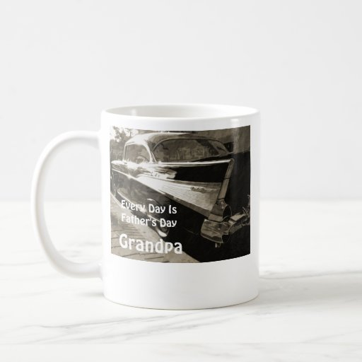 Every Day is Father's Day, Grandpa, 1955 Chevy Coffee Mug