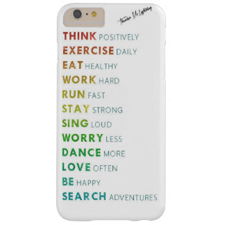 Every day words barely there iPhone 6 plus case