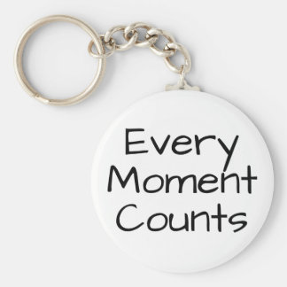 Every Moment Counts Key Ring